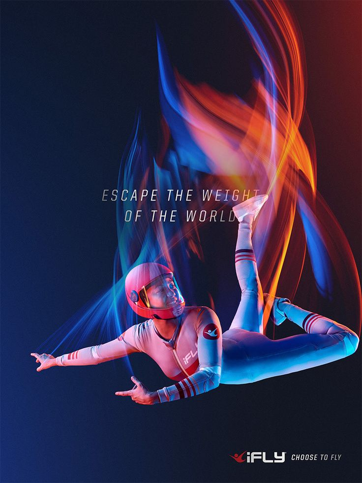 iFLY Indoor Skydiving on Behance in 2020 (With images