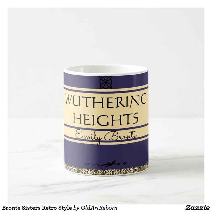 Bronte Sisters Retro Style Coffee Mug
