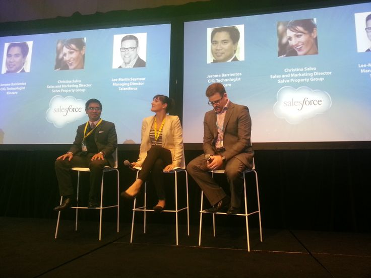 Talking AppExchang at SF1 World Tour Melbourne.
