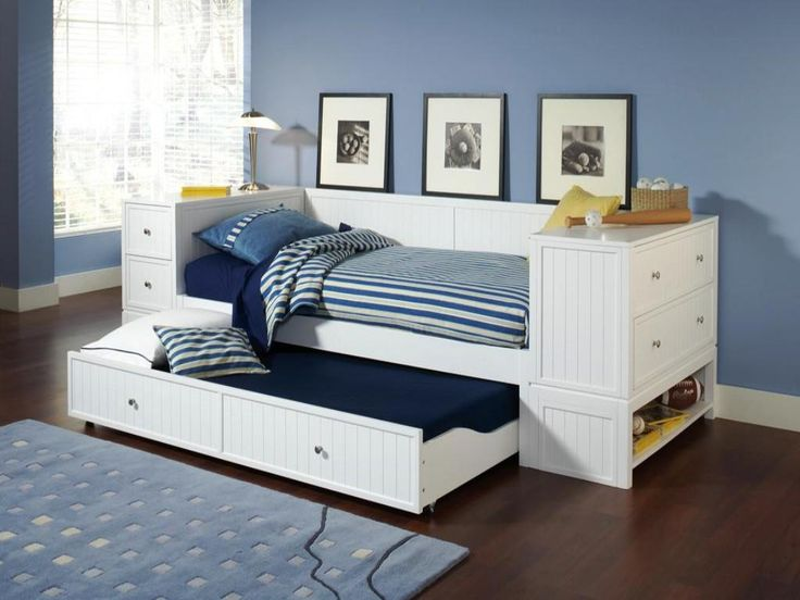 Full Size White Daybed With Trundle Daybed With Storage Trundle Bed With Storage Daybed With