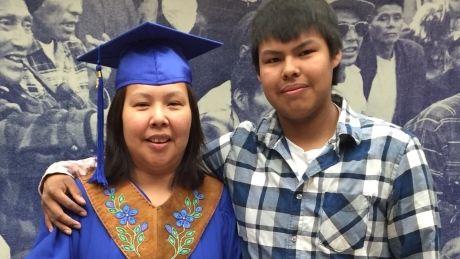 Indigenous Role Model- Graduating mother of 4, Gladys Tlokka