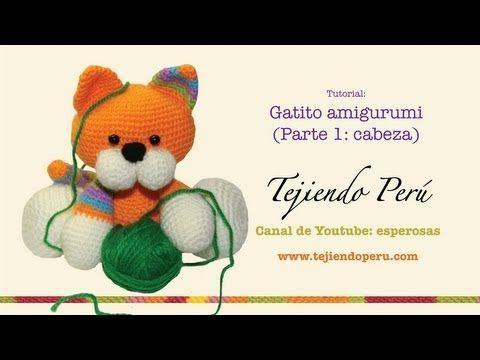 gatito amigurumi tutorial - YouTube