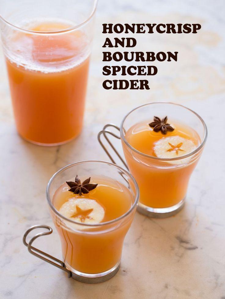 Honeycrisp and Bourbon Spiced Cider recipe