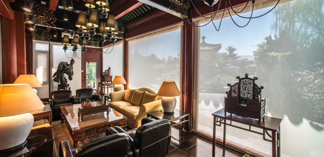 LV Garden Huanghuali Art Gallery - Beijing, China - Boutique Hotels