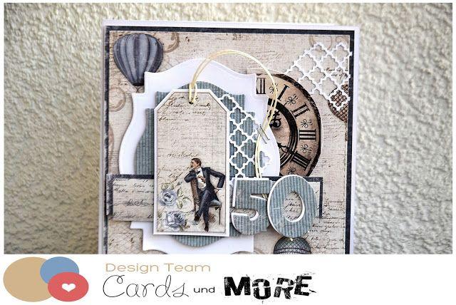 (adzia) mary czary: Card for 50th Birthday