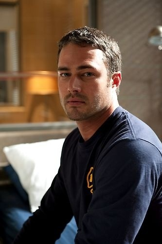 not sure who he is, but he's hot. lol  Luminoso: Delicious - Taylor Kinney