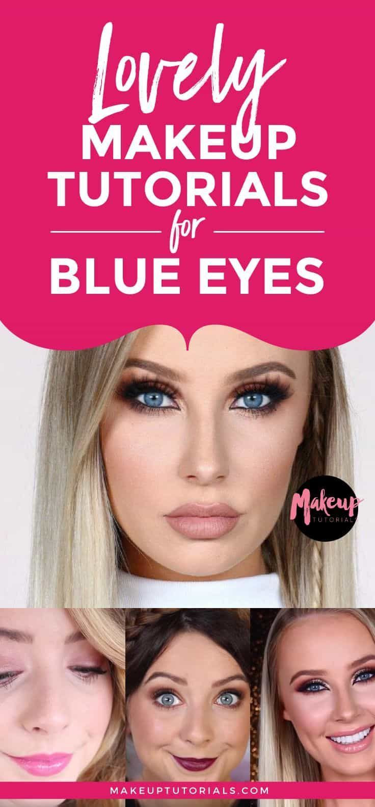 Makeup tutorials for blue eyes lovely makeup tutorials for blue