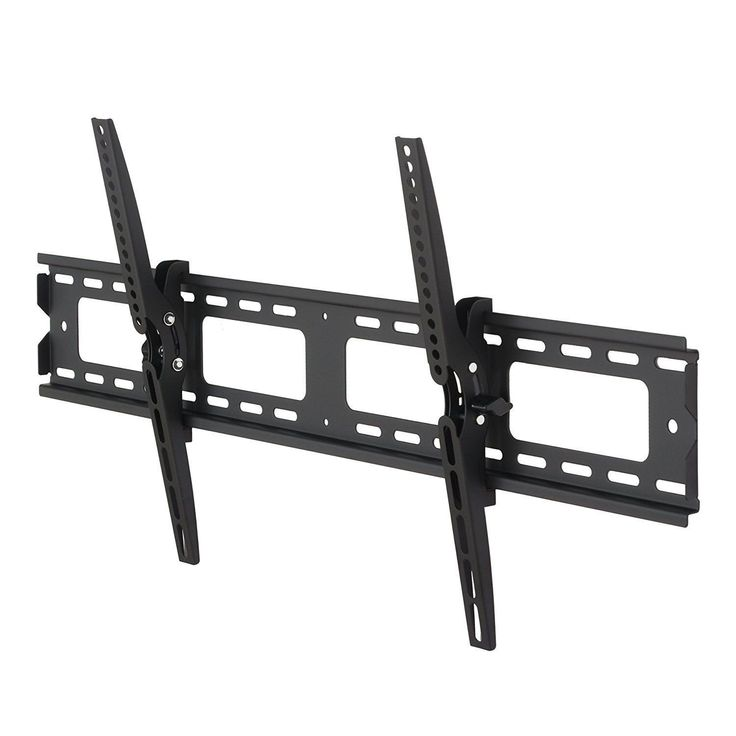 Fitueyes black tilt TV Wall Mount Bracket Tilting plasma TV bracket for 42-80 Inches TV with Vesa From 100x100mm to 400x800mm