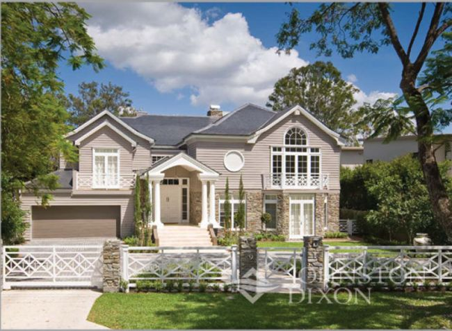 Cape cod style in brisbane australia home exteriors for Cape cod style houses for sale