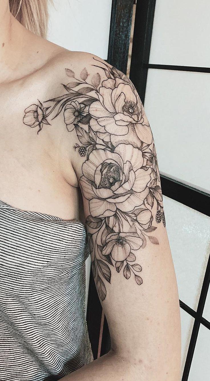 As 130 Melhores Tatuagens no ombro femininas da