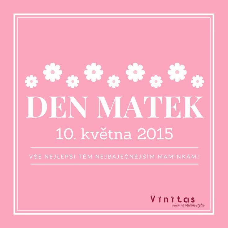 Den matek 10. 5. 2015 - přejeme vše nejlepší!