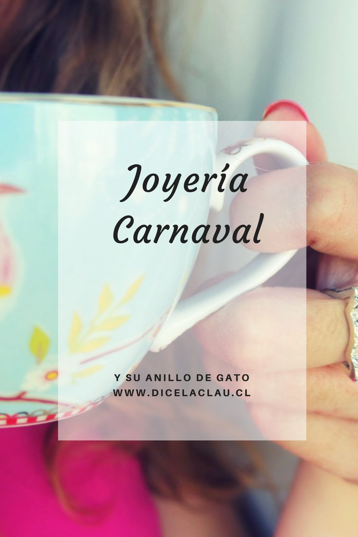 Para los amantes de los gatos Joyería Carnaval tiene un anillo especial <3