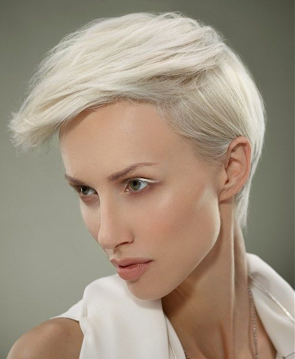 https://flic.kr/p/o5AVad   Trendy Hair-Short-White-straight-hairstyles