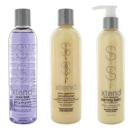 Simply Smooth After Keratin Treatment products make your hair feel smooth and thick!