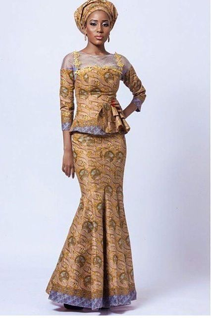 17 Best Ideas About Unique Ankara Styles On Pinterest