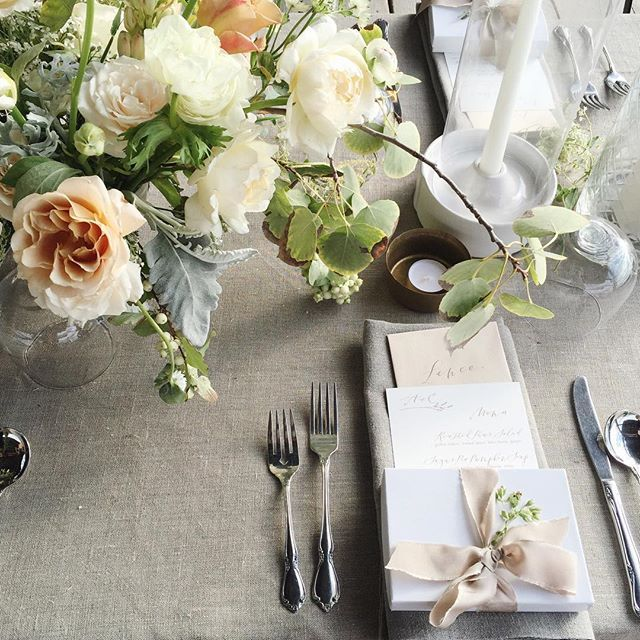 """""""Gorgeous wedding today for @aubreynelson_ with some amazing helpers!!! Thank you friends! @flourishbykay @lafetefloral @eleanormika @we.wander @melhauptfloral"""" Photo taken by @tingefloral on Instagram, pinned via the InstaPin iOS App! http://www.instapinapp.com (10/02/2015)"""