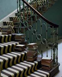 Super, striped stair runners