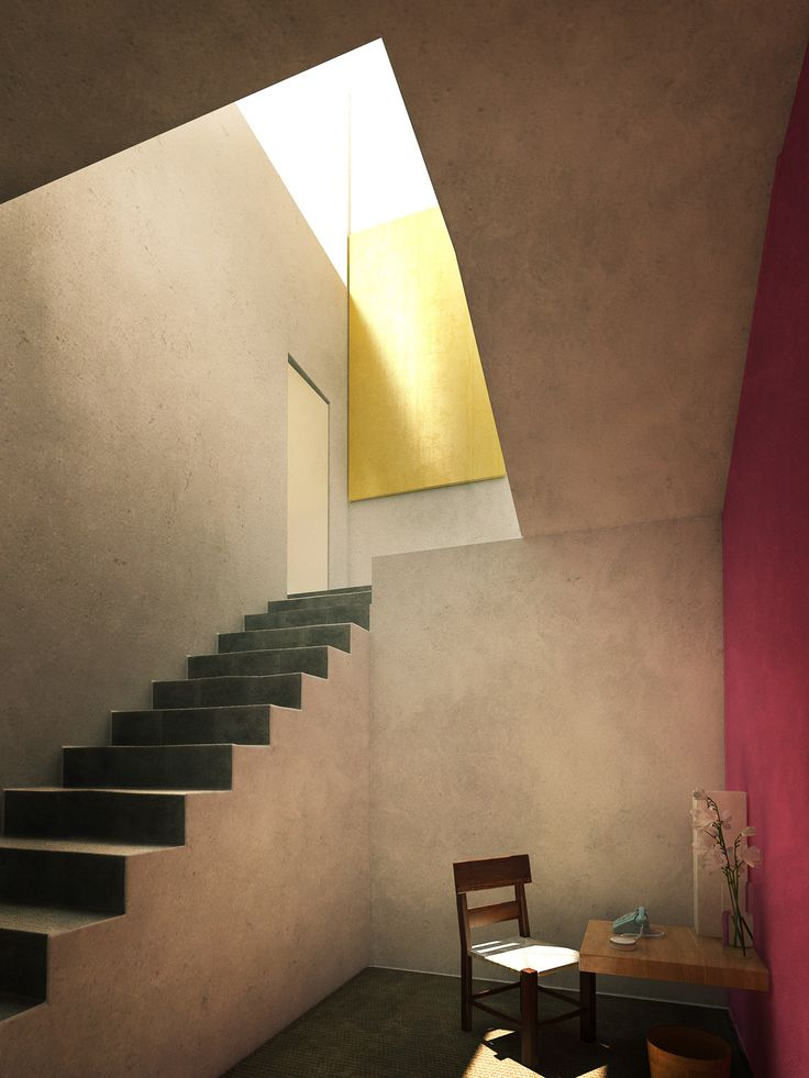 Casa barragan by xoio 3d architectural visualization rendering blog
