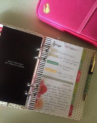 scrappinplanner: Pianifichiamo il nostro scrappin' planner _ Elena_PlanningMyLife