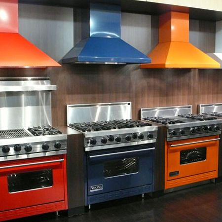 The viking range in orange would be the perfect addition - Orange kitchen appliances ...