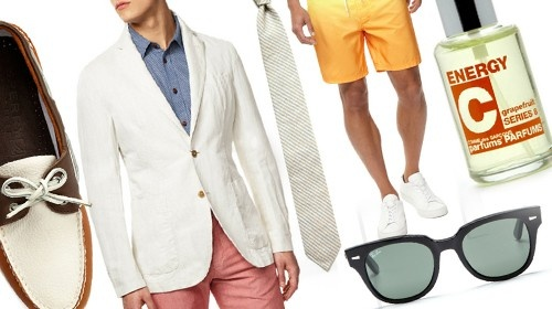 The Only 10 Things You Need To Wear This Summer    Our fashion editor teamed up with Tyler Thoreson of Gilt MAN and Park & Bond to make warm-weather dressing really easy.  http://ca.askmen.com/fashion/galleries/10-summer-essentials.html