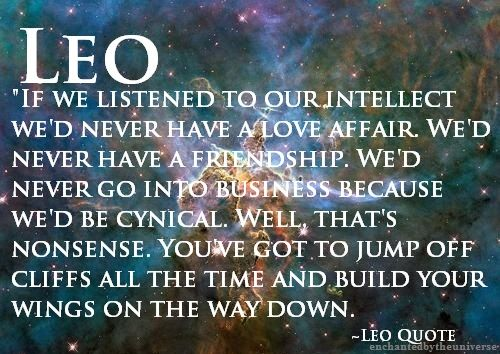 Quotes About Leo Sign. QuotesGram