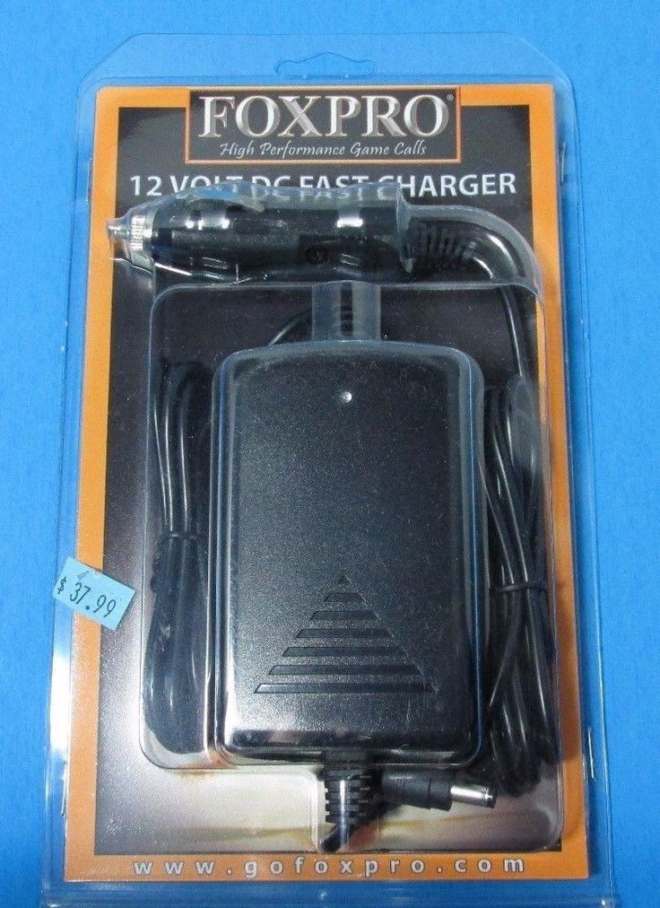 FOXPRO Caller 12 volt DC Fast Charger - New Hunting Game Calls