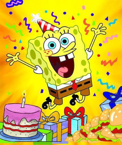 16 Best Spongebob Birthday Images On Pinterest Sponge