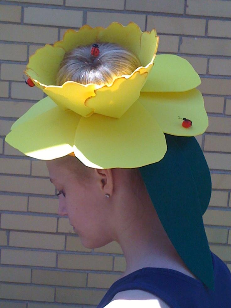 Daffodil Easter Bonnet.
