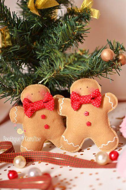 Atelier - Boutique D' Caroline: Lá vem o Natal
