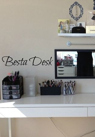 28 best images about my beauty room on pinterest large acrylic makeup organizer ikea and. Black Bedroom Furniture Sets. Home Design Ideas