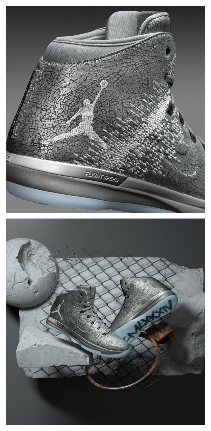 Built for the biggest moments, this AJ XXXI never cracks under pressure.