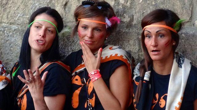 Leocorno supporters, August 2014
