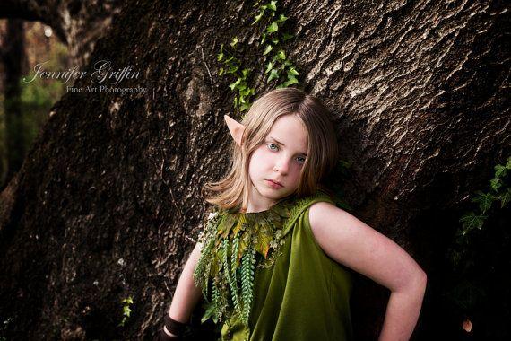 Woodland Fairy Necklace Woodland Chest Piece Fairy by LilyMairi