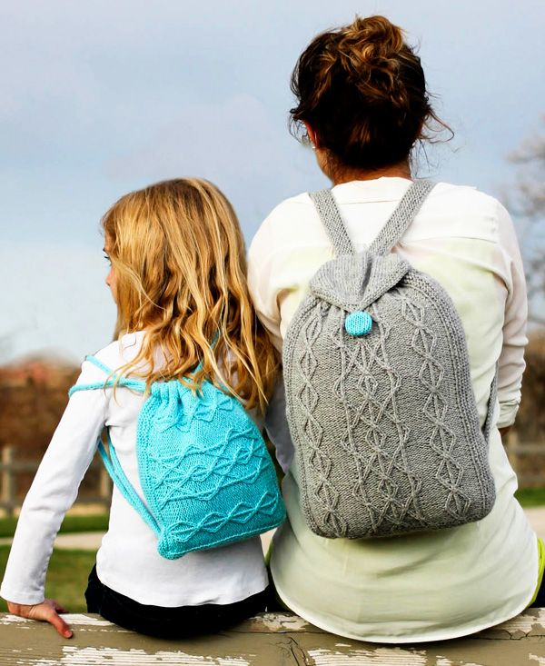 SQUEE. I've wanted a knitting pattern for a backpack for ages!! > Adventure Rucksack: First Fall 2013