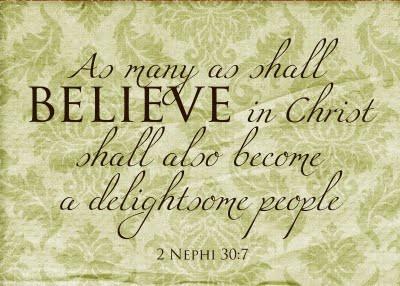Book of Mormon scripture printables
