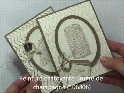 Stampin'UP! - Double embossage - YouTube