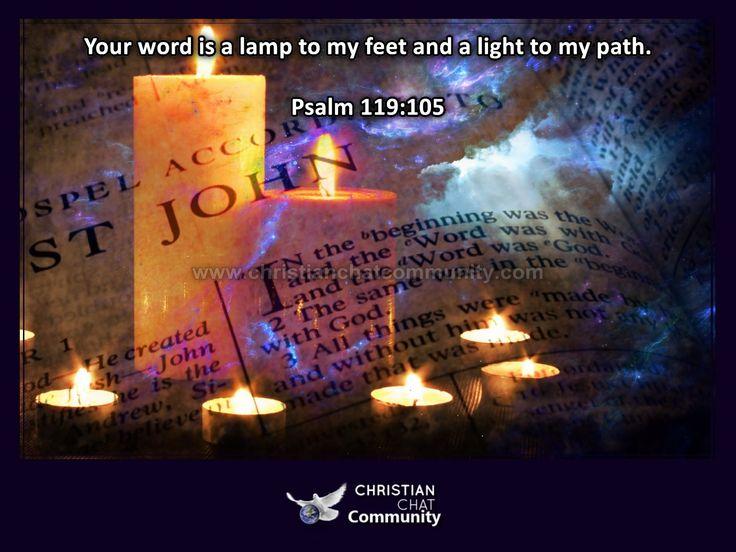 Psalm 119:105 - Christian Chat Community