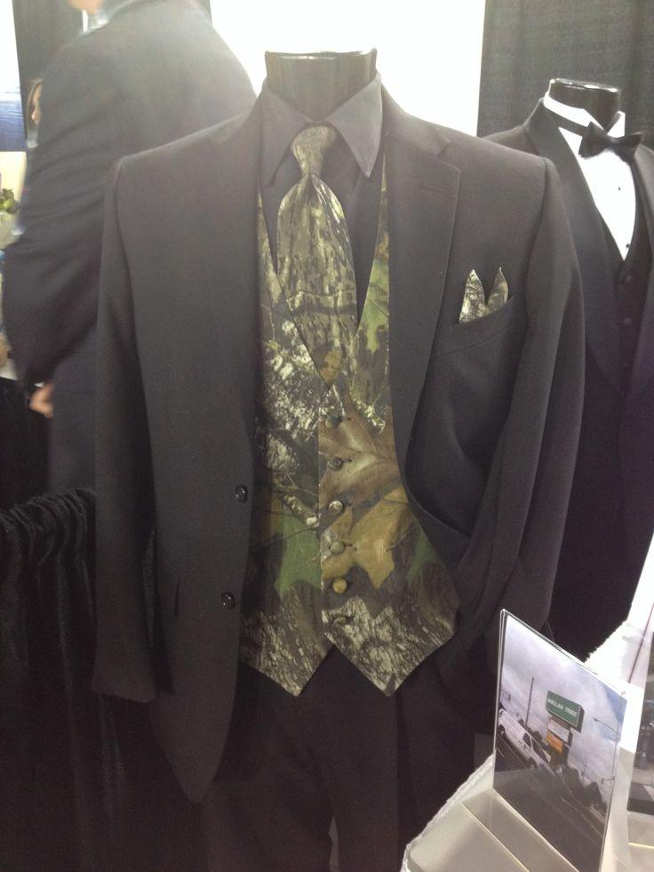 Camo Tuxedo Wedding Party Fashions Pinterest