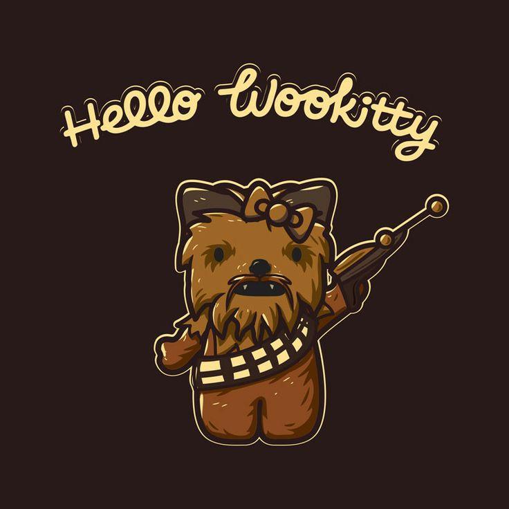 Hello Wookitty #samarretaxula #starwars #wookie