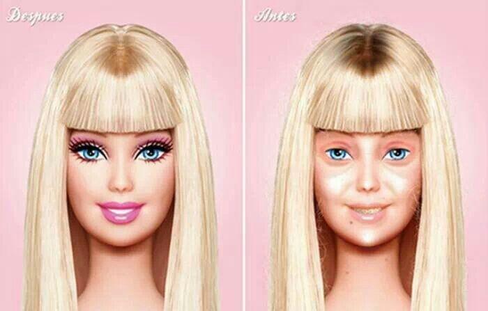 Entonces no es muy bonita Barbie.
