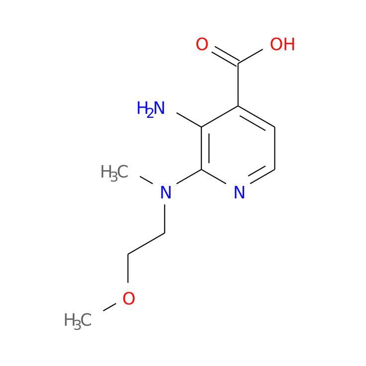 3-AMINO-2-[(2-METHOXYETHYL)(METHYL)AMINO]PYRIDINE-4-CARBOXYLIC ACID is now  available at ACC Corporation