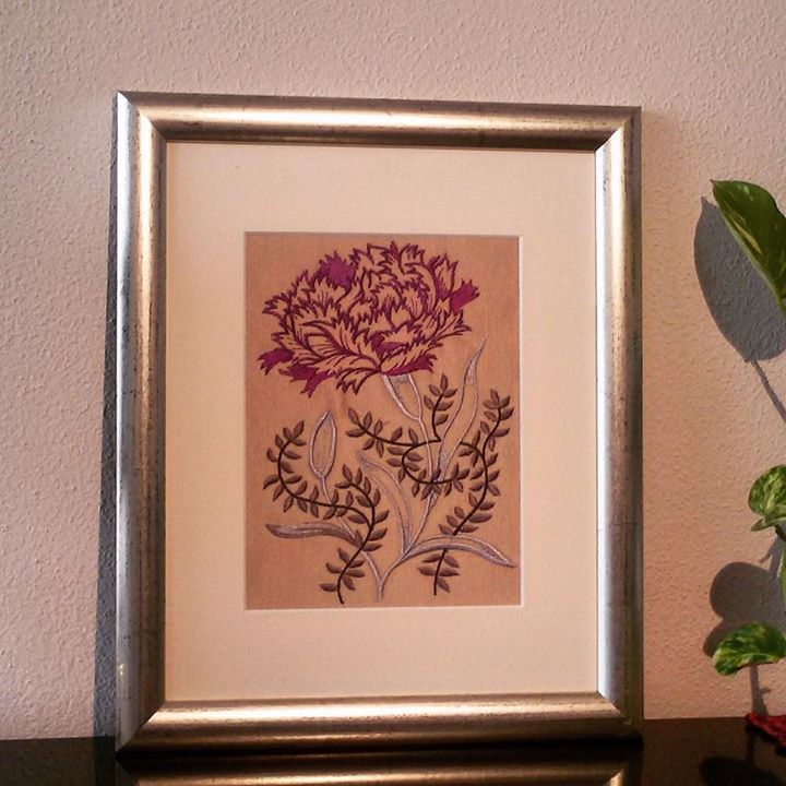 Embroidered picture by JennyJeshko