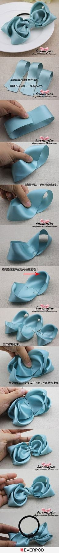 How to make a gorgeous bow.