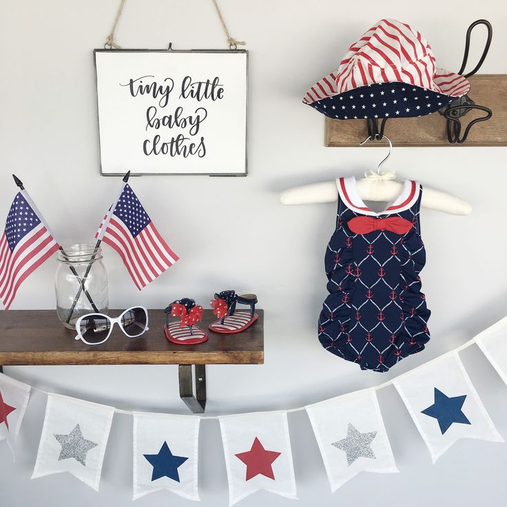 babies r us 4th of july clothes