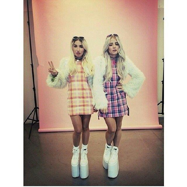 Rebecca & Fiona @rebeccafiona | Websta APRIL 21 2014 #EDM