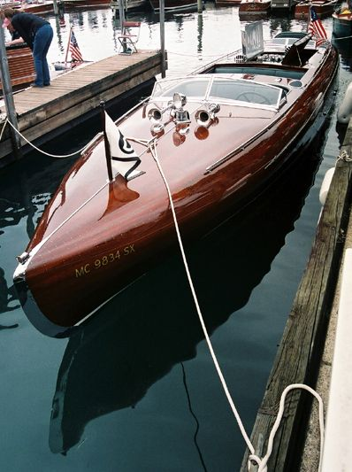 hacker craft wooden boats disgustingly gorgeous