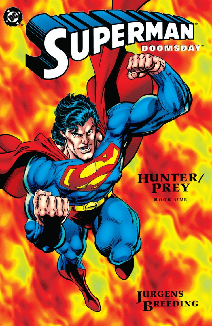 DC Comics - Superman Doomsday Hunter/Prey #1-3 (1994) Set VF/VF+