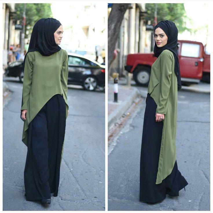 Black turban street style. muslimah. Türkiye