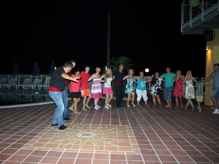 Lets dance all together !! Akropolis Hotel #Fourka #Halkidiki #Greece #dance #traditional #zorbas